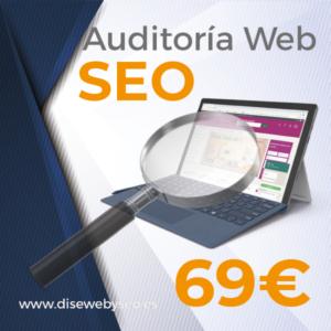 Auditoria web para seo web