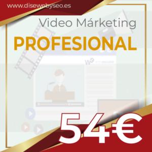 videomarketing PROFESIONAL para DISEWEBYSEO