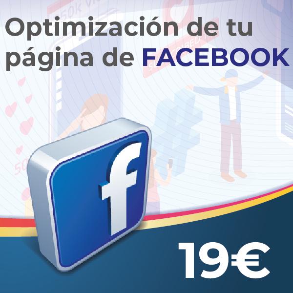OPTIMIZACION de pagina de facebook en disewebyseo